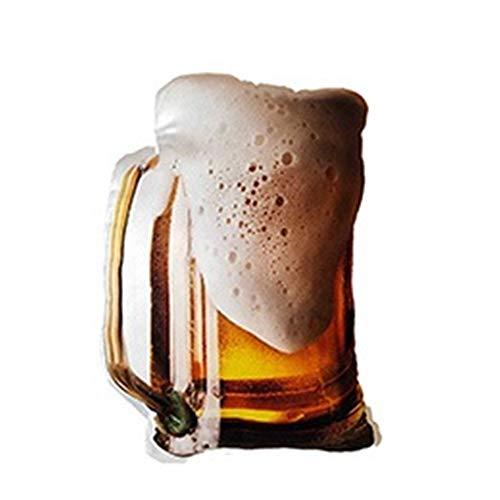 Lifelike cibo peluche ripiene Bicchiere da birra Bistecca di manzo arrosto Chick anatra in umido di maiale cuscino del barbecue della bibita analcolica Snack Cuscino Prop Regalo di peluche per bambini