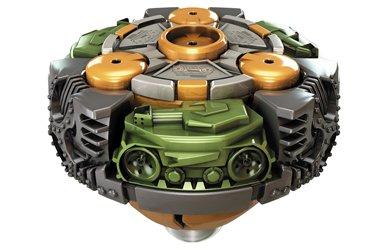 Mega Bloks Battle Strikers Turbo Tops Reload Striker Tank Booster Pack Magnext