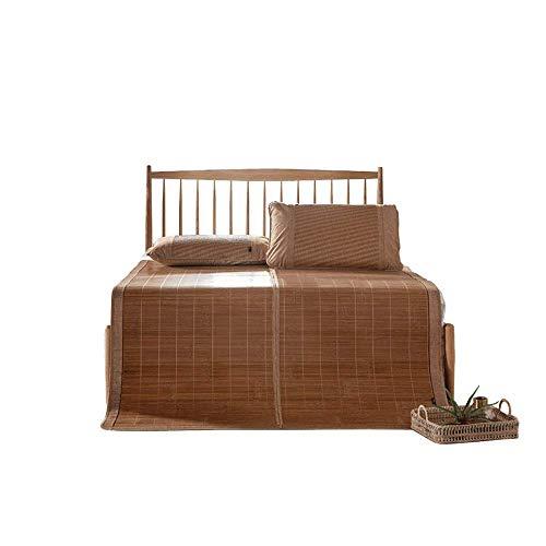 Estera de bambú Mats Family Matters Colchón Almohadilla de Dormir Fresco Verano Colchón de enfriamiento Transpirable Matería de bambú Impresionante Mats Antideslizantes OYO (Size : 1.8x2.0m)
