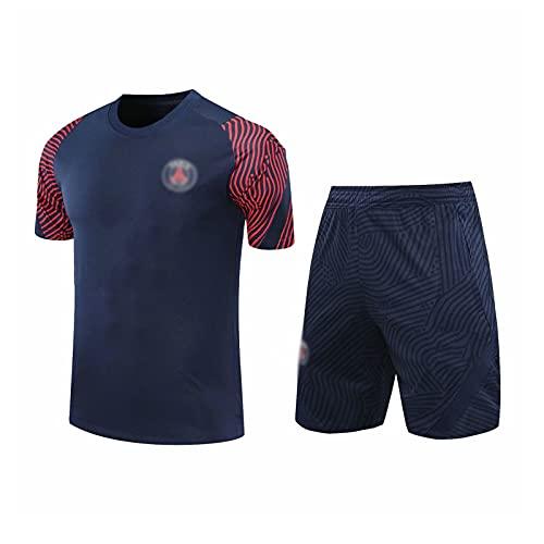 oein Traje de entrenamiento de fútbol para hombre, conjunto de camiseta unisex...