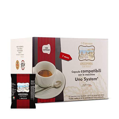 UNO System 100 capsule Caffè GUSTO RICCO Gattopardo