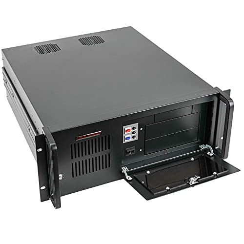 "RackMatic - Caja Rack 19"" IPC ATX EATX 4U 2x5.25 8x3.5 Fondo 540mm"