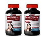 Women libido Enhancer Pills - Female Arousal Enhancement Pills 1037 MG - Premium Dietary Supplement - mucuna pruriens Supplements - 2 Bottles 120 Capsules