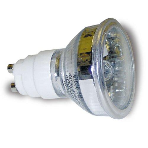 GE CMH20/MR16/UVC/830/GX10/FL. 20W GE cmh–830–3000K Warmweiß–Keramik-Metalldampf-Lampe MR16(GE 40401) CMH20/MR16/UVC/830/GX10/SP C156/M156-[auch bekannt als Sylvania Britespot ES50]