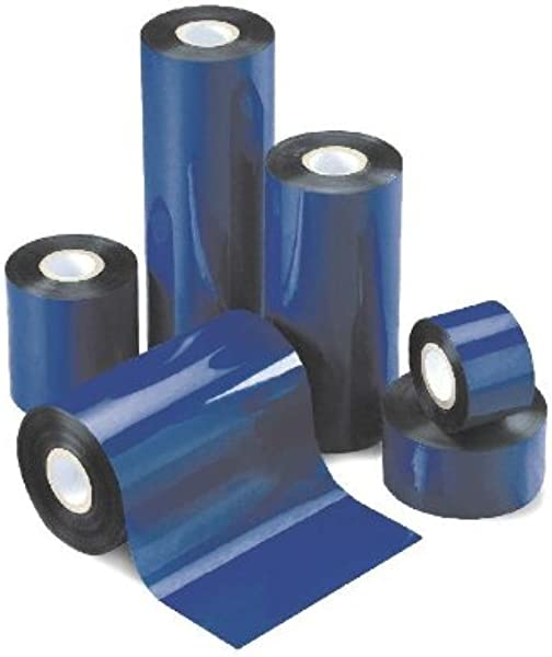 Thermal Transfer Ribbon Wax 4 02 X 1476 102mm X 450m Black 24 Rolls Case ZEBRA Printer
