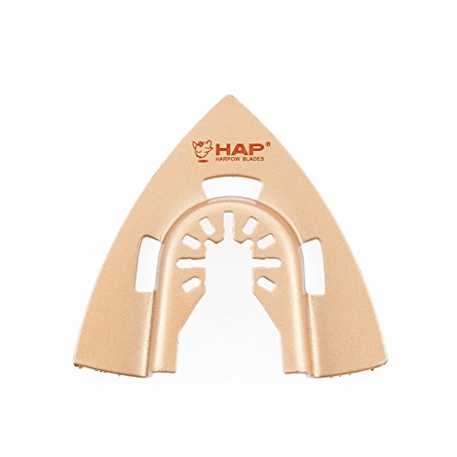 Great Features Of Harpow 50 pieces Brazed carbide triangular grinding blade,power oscillating tool b...