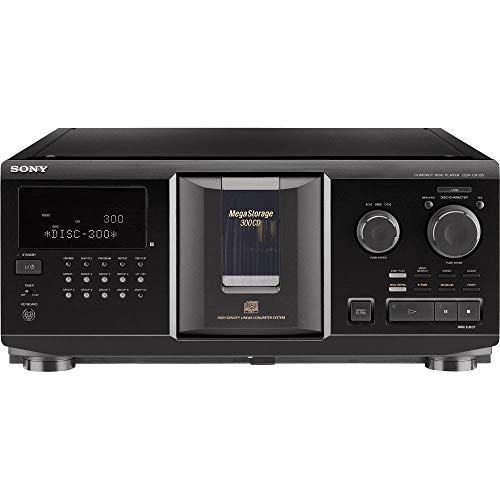 Sony CDPCX355 300-Disc MegaStorage CD Changer (Discontinued by Manufacturer) (Renewed)