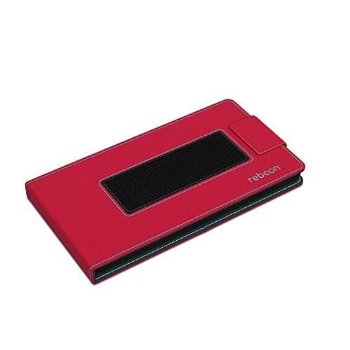 Hülle für Archos 50d Oxygen Plus Tasche Cover Hülle Bumper | Rot | Testsieger