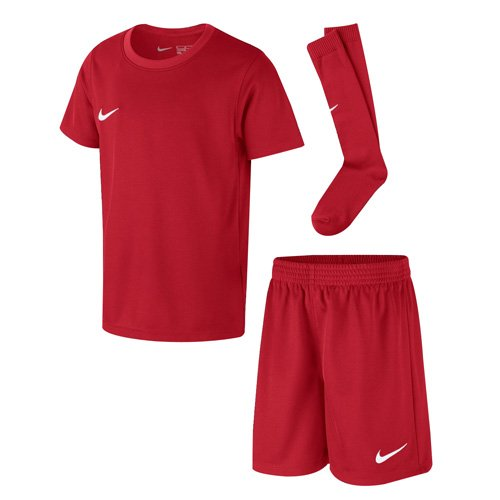 Nike Kinder Park Kit Trikotset, Rot (University Red/White), M (110-116)