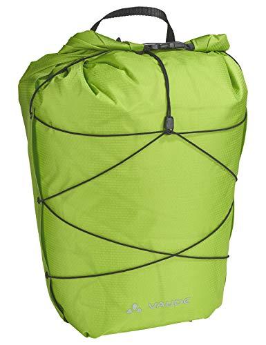 VAUDE Hinterradtaschen Aqua Back Light, Ultraleichte Hinterradtasche zum Radfahren, chute green, one Size, 129524590