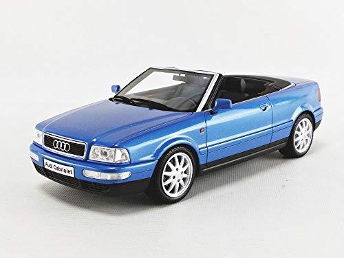 Ottomobile kompatibel mit Audi 80 Cabrio 1998 Kingfisher blau Modellauto 1:18