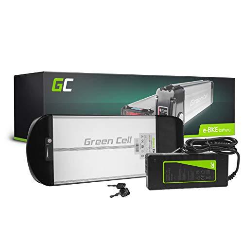 Green Cell® E-Bike Akku 36V 10Ah Li-Ion Pedelec Rear Rack Gepäckträger Batterie mit Ladegerät
