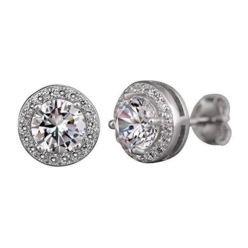 Allegorly Damen Ohrstecker Ohrringe, Ohrstecke von Ohrringe für Mädchen Schmuck Damen, Geschenke für Frauen Geschenk fur Frauen Weihanchten
