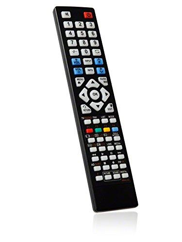 BRC3.44484 Ersatzfernbedienung speziell für SOXO LCD/LED-TV LE-22A31DVB-T - bonremo®-Edition inkl. Batterien