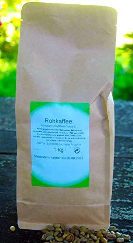 Naturix24 Rohkaffee aus Äthiopien DJIMMAH Grade 5 1 Kg