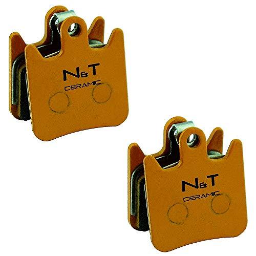 Noah And Theo 2 Pastillas de Freno de Disco de cerámica NT-BP030/CR para Hope Tech 3 X2 y Race EVO X2, compatibles con Hope HBSP237