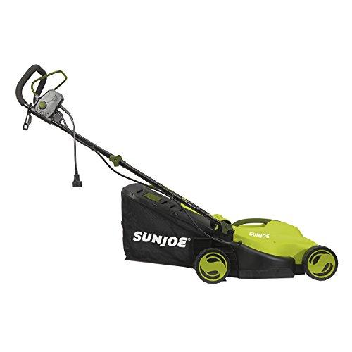 Sun Joe MJ400E 12-Amp 13-Inch Electric Lawn Mower w/ Grass Collection Bag