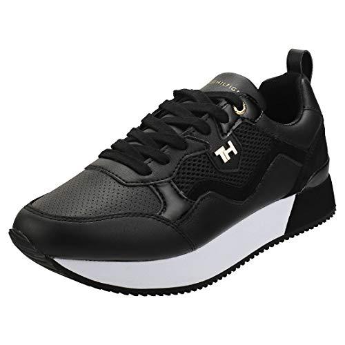 Tommy Hilfiger Damen Annie 7c Sneaker, Schwarz (Black Bds), 38 EU