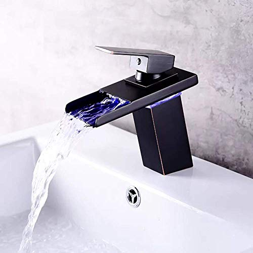 Find Discount Yadianna High Water Flow Bathroom Products Three-Color Temperature Control LED Intelli...