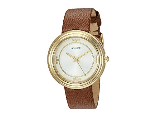 Tory Burch Bailey Leather Watch Brown - Tbw6100 One Size
