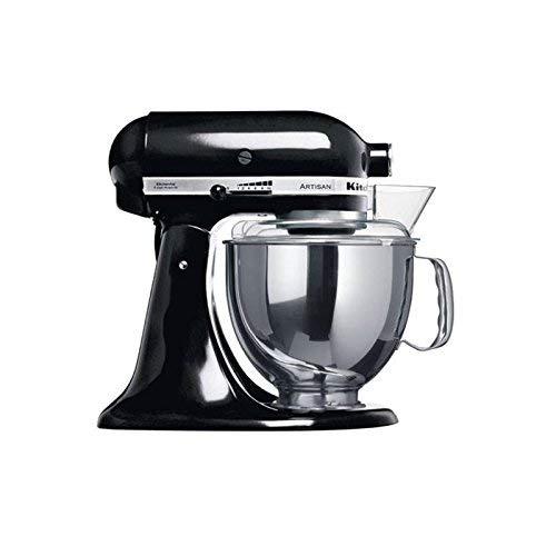 KitchenAid 5KSM150PSEOB, Negro, 50 - 60 Hz, 220 - 240 V, 221 mm, 358 mm, 353 mm