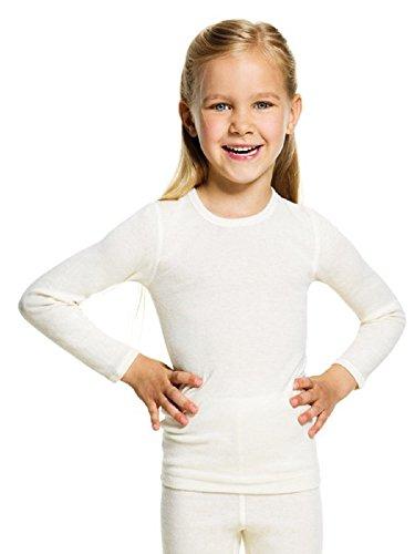 Medima Kinder Langarm Angora Unterhemd UNISEX (152)