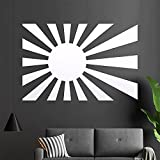 Japan Flagge Wandtattoo in 6 Größen - Wandaufkleber Wall Sticker
