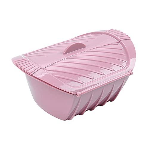 Vapor de silicona creativo al vapor Fish Bowl con tapa resistente al calor reutilizable caja de vapor para microondas horno asador cocina utensilios Gadgets