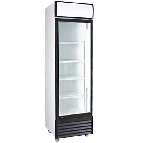 Procool Refrigeration Glass Door Upright Display Beverage Cooler