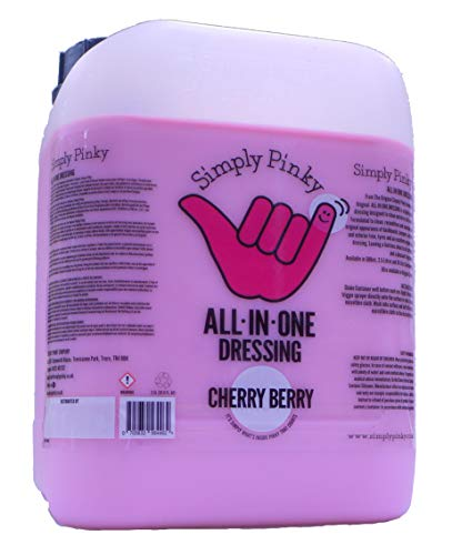 Simply Pinky All In One Dressing Interior Exterior and Tyre Dressing Cherry Berry 5 Litres