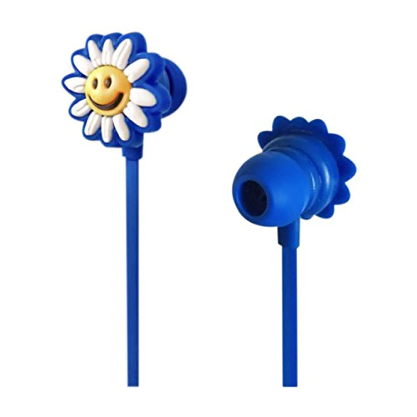 航海の修復同等のWiggle Wiggle Funky Earphone (Daisy) WW-030