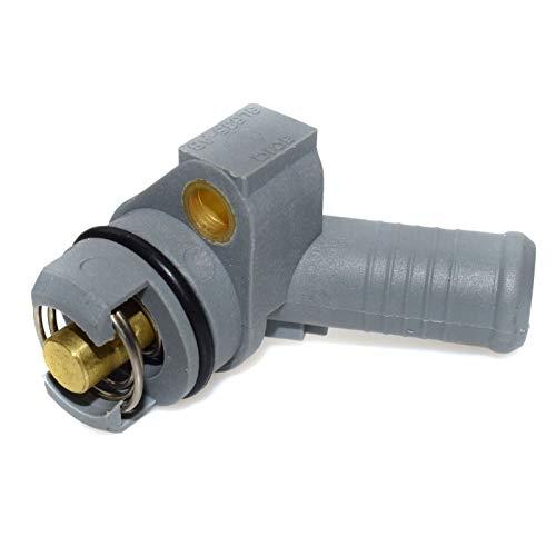HCO-YU Termostato del enfriador de aceite del motor Ajuste para FORD MONDEO 3 MK3 Transit Fit para JAGUAR X-Type 2.0 2.2 2.4 TDDI TDCI 6C1Q6L635AB Casas de termostato