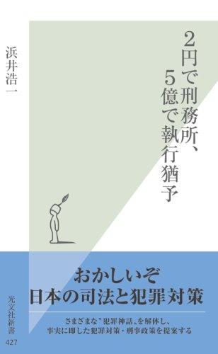 2円で刑務所、5億で執行猶予 (光文社新書)