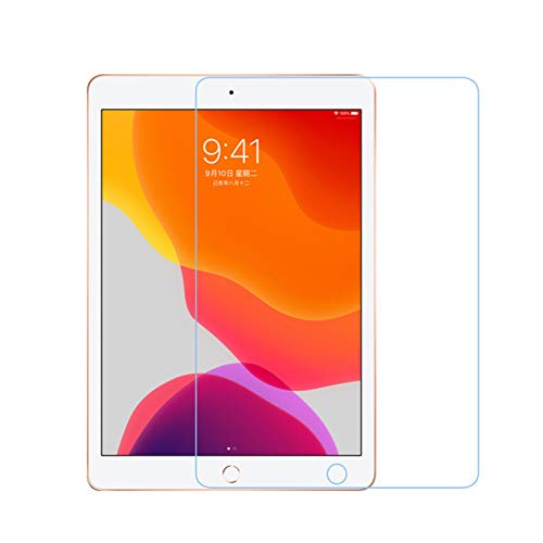CMDZSW Tempered Glass Screen Protector For Apple IPad 10.2 2019 0.3mm 9H HD Protective Glass Film For IPad 7 Seventh Generation A2200 A2198 (Color : Clear)