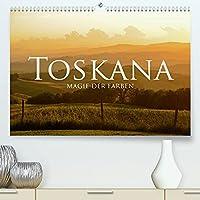 Toskana - Magie der Farben (Premium, hochwertiger DIN A2 Wandkalender 2022, Kunstdruck in Hochglanz): Die Toskana ist eine bezaubernde Kulturlandschaft voller Farben und Magie. (Monatskalender, 14 Seiten )