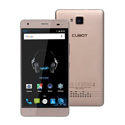 Cubot Echo 5' Doppia SIM 2GB 16GB 3000mAh Oro