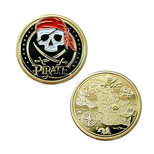 valungtung Moneda Conmemorativa Moneda Pirata Esmalte Baño En Oro Torre De París Insignia Nostálgica Colección De Monedas Antiguas Rusas Retención De Monedas Esqueleto