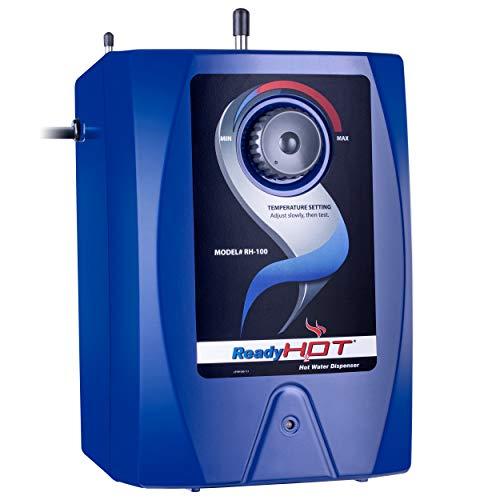 Ready Hot RH-100 Hot water Dispenser RH-100 Hot Water Dispenser System, 2.5 Quarts, Manual Temperature Control, Blue