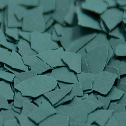 1/4' Epoxy Paint Chips Flakes (1lb, Green)
