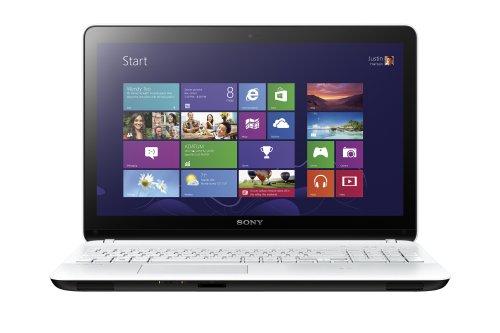 Sony Vaio Fit 15 E 15-inch Touchscreen Laptop (White) - (Core i3 Processor, 4GB RAM, 500GB HDD , Windows 8)