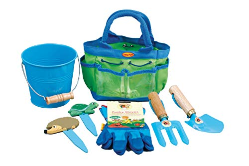 Little Pals 7-LP381 Children's Gardening Tools Kit - Blue