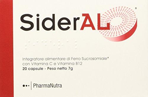 Pharmanutra Sideral Integratore Alimentare di Ferro - 20 Capsule