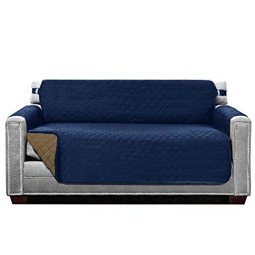 El protector de sofá reversible original de Sofa Shield, incluye correa de elástica