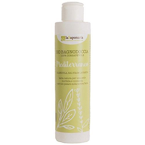 Bagnodoccia mediterraneo - La Saponaria - biologico certificato - 200 ml