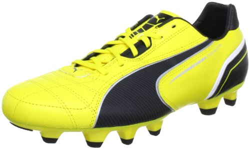 Puma Momentta FG 102676, Herren Fußballschuhe, Gelb (blazing yellow-black-whit 01), EU 40.5 (UK 7) (US 8)