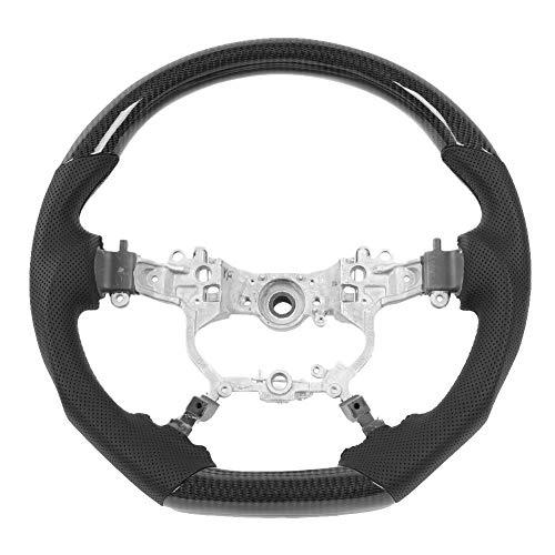 Steering Wheel , Car Racing Steering Wheel Carbon Fiber Nappa Leather Fit for Alphard Crown Land Cruiser