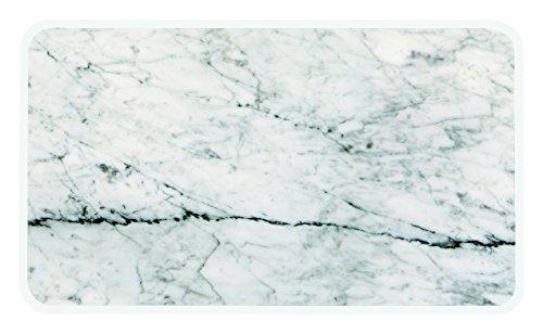 Zak designs 1303-140 Planche de service Plastique Marbre/Blanc 28 x 20 cm