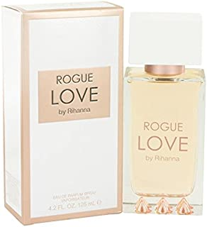 Rihanna Rogue Love by Rihanna Eau De Parfum Spray (Tester) 4.2 oz for Women - 100% Authentic