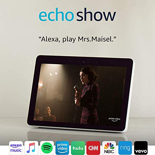 """Product Image 7: Echo Show (2nd Gen)   Premium 10.1"""" HD smart display with Alexa – stay connected with video calling – Sandstone"""