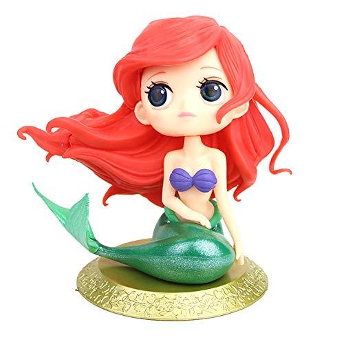 MissGood Meerjungfrau-Puppe Cake Topper Figur für Hochzeit Kinder Geburtstag Baby Shower Meerjungfrau Thema Party Dekoration